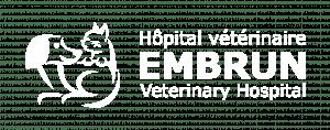 logo d'hôpital vétérinaire embrun à embrun, ontario